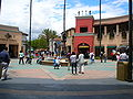 Universal Studios Hollywood main entrance courtyard.JPG