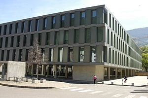 Free University of Bozen-Bolzano - The premises of Brixen