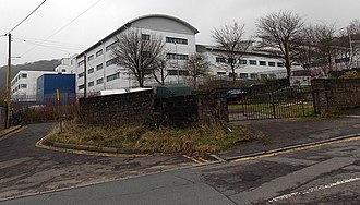 University of South Wales - Image: University buildings in Treforest geograph 3831050 by Jaggery