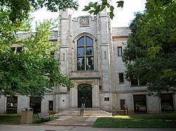 University of Arkansas Agriculture Building.jpg