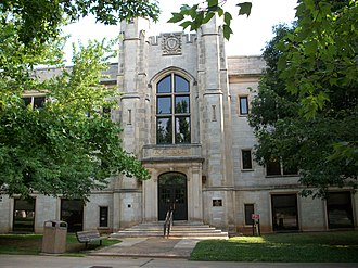 University of Arkansas Campus Historic District - The Agriculture Building was completed in 1927 as part of the 1925 master plan.