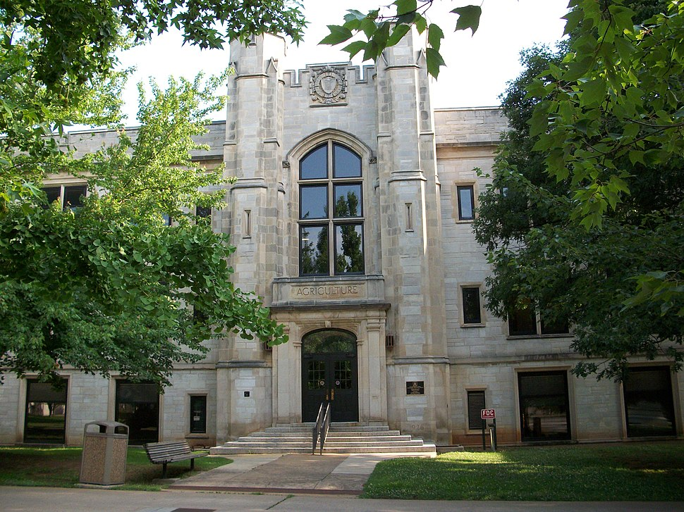 University of Arkansas Agriculture Building