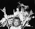University of Texas at Arlington homecoming bonfire (10011010).jpg