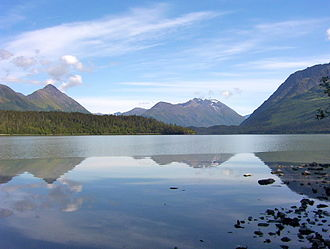 Trail Lakes - Upper Trail Lake