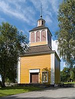 Vähäkyrö church belfry.jpg