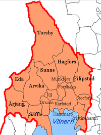 Municipalities of Värmland County
