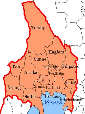 Värmland County - Image: Värmland County