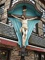 VERVIERS Crucifix contigu au café de la Bourse - rue Xhavée 2 (3-2013) P1060715.JPG