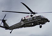 VH-60N Marine Helicopter flies over the Potomac.jpg