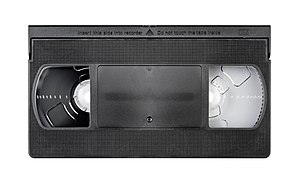 JVC - JVC's VHS tape won over Betamax to become common home recording format.