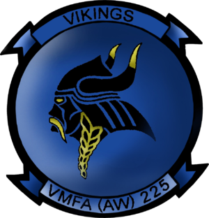 VMFA(AW)-225 - Image: VMFA (AW) 225 insignia