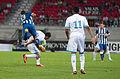 Valais Cup 2013 - OM-FC Porto 13-07-2013 - Danilo, Morgan Amalfitano et Jordan Ayew.jpg