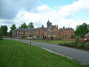 Thomas Cholmondeley, 1st Baron Delamere - Vale Royal Great House, formerly the seat of the Barons of Delamere – sold in 1947