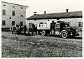 Valtionarkisto 1945. Asiakirjojen kuljetusta Pistolan tilalta Vuojoen asemalle 6.4.1945. Kansallisarkisto.jpg