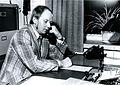 Valtionarkisto 1972. Mikkelin maakunta-arkiston arkistonhoitaja Raimo Viikki. Kansallisarkisto.jpg