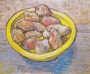 Still Life: Potatoes in a Yellow Dish