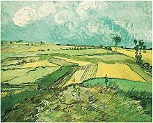 Van Gogh Wheat-Fields-at-Auvers-Under-Clouded-Sky July 1890.jpg
