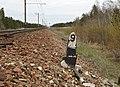 Vana piketipost Vasalemma-Keila raudteelõigul.jpg