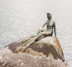 The Little Mermaid (statue) - Image: Vancouver Mermaid