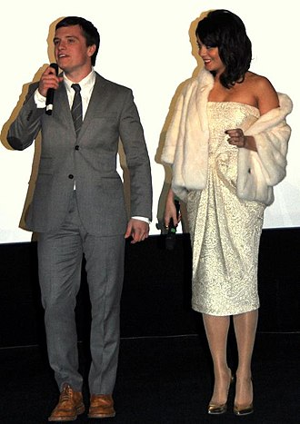 Journey 2: The Mysterious Island - Josh Hutcherson and Vanessa Hudgens in Paris at the film's French premiere in February 2012.