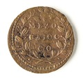 Vatikanskt mynt. Mezo Baiocco - Skoklosters slott - 109939.tif