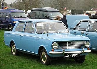 Vauxhall Viva - Vauxhall Viva HA Series