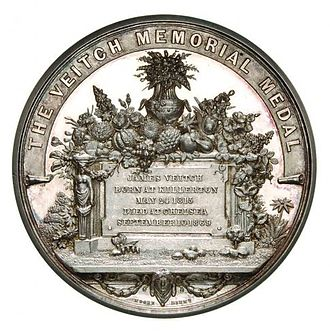 Veitch Memorial Medal - Veitch Memorial Medal
