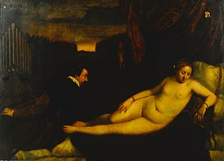 Venus with an Organist and a Dog