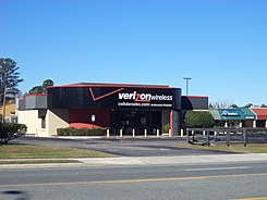 Verizon Wireless store, Macclenny.JPG