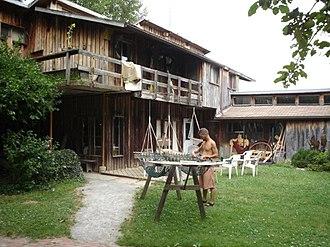 Twin Oaks Community, Virginia - Hammock-making is one of Twin Oaks' main sources of income
