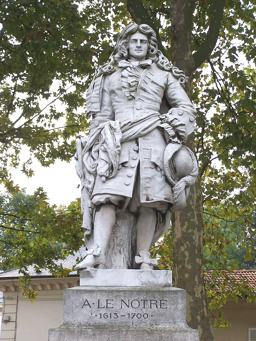 Versailles Statue Le Nôtre