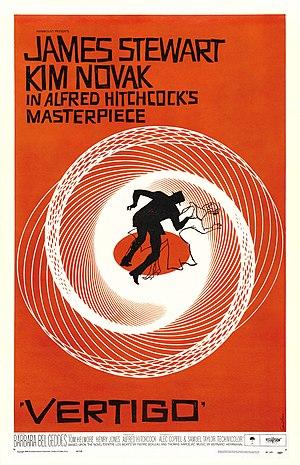 Saul Bass - Vertigo poster designed by Bass