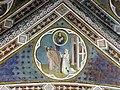 Via angelica, oratorio di s. urbano, volta, allegorie della venuta di cristo, xiv sec. 03.JPG