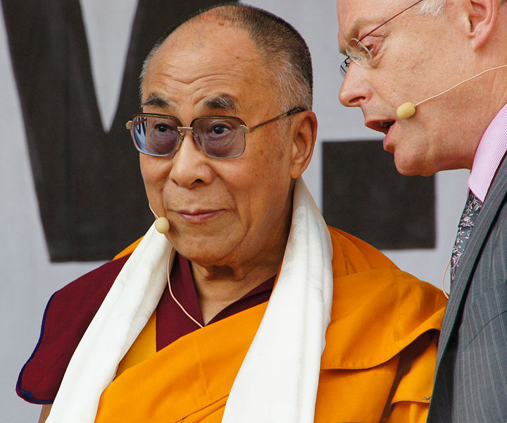 File:Vienna 2012-05-26 - Europe for Tibet Solidarity Rally 174 His Holiness, 'enchanted' by translator.jpg