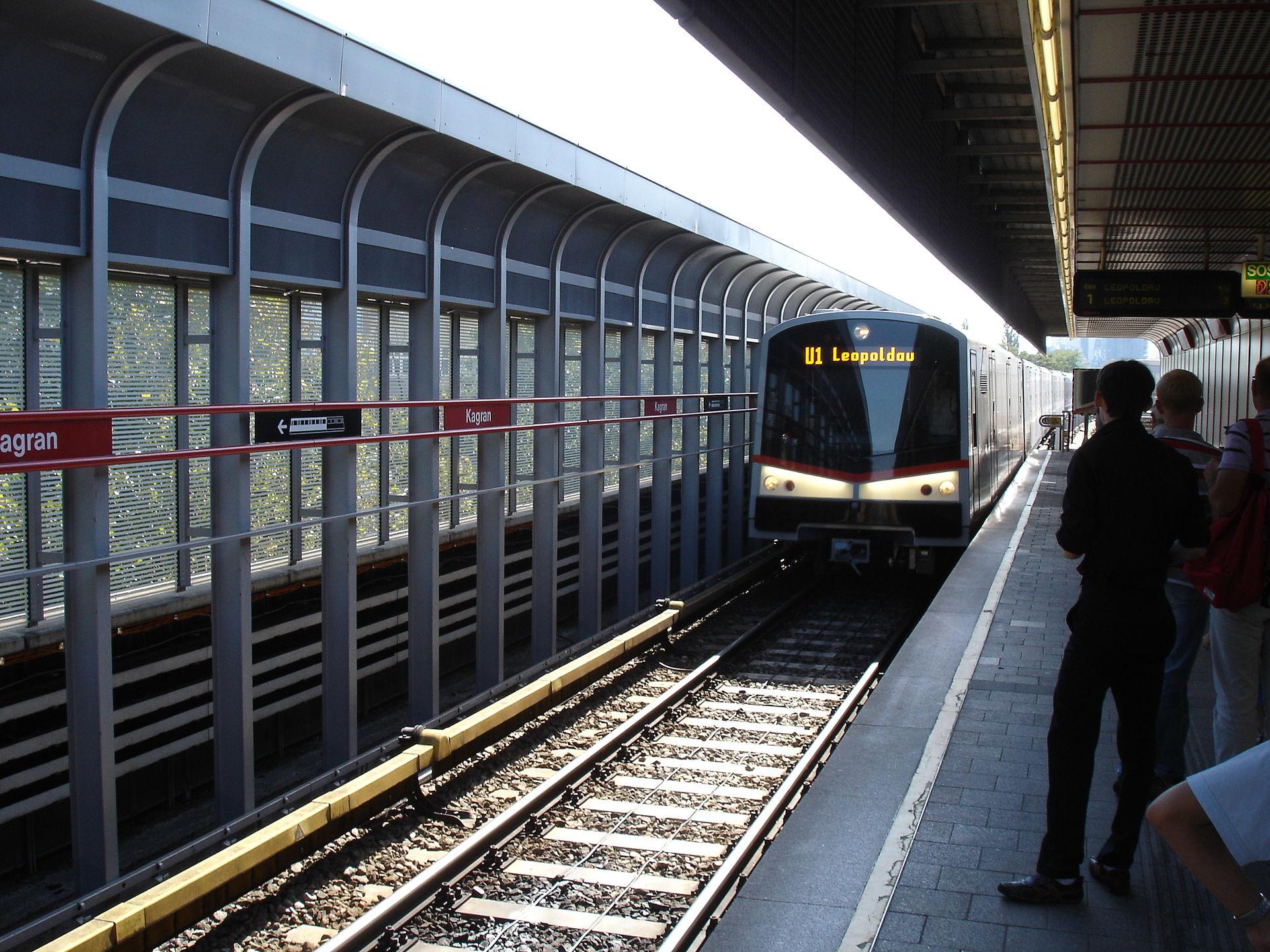 U1 (Vienna U-Bahn) - Wikipedia