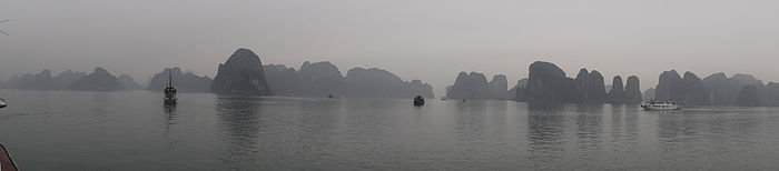 Panorama zaljeva Ha Long