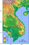 Vietnam Topography