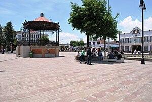 Metepec - Kiosko in the main plaza of the historic center of Metepec