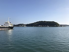 View from Misumi East Port (Tobasejima Island).jpg