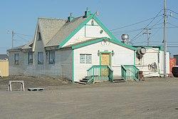 View from the west - Point Barrow Refuge Station, Barrow, Alaska.jpg