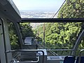 View from train of Sarakurayama Cable Car 2.jpg