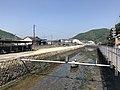 View of Shin-Irikawabashi Bridge on Okawa River.jpg