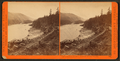 View on the Columbia River, Middle Block House, Cascades, by Watkins, Carleton E., 1829-1916.png