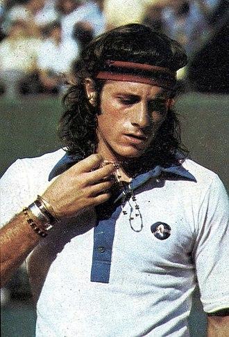 Guillermo Vilas - Guillermo Vilas in 1975