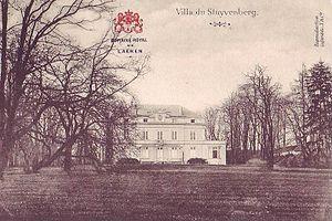 Château du Stuyvenberg - Image: Villa Stuyvenberg Laeken