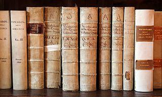 <i>Vocabolario degli Accademici della Crusca</i> First dictionary of the Italian language