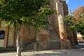 Villafáfila, Iglesia de Santa María, fachada norte, detalle de contrafuertes.jpg
