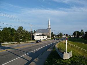 Sacré-Coeur, Quebec - Image: Village de Sacré Coeur