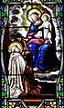 Villeréal - Eglise - Vitrail de la vie de saint François et du saint scapulaire -3.jpg