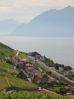 Villette (Lavaux), Suisse et lac Léman.jpg